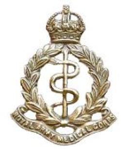 RAMC Cap Badge